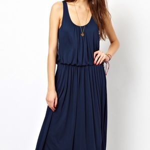 FRENCH CONNECTION navy summer dress